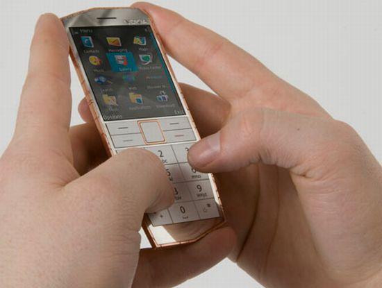 nokia e cu concept phone allows body heat to reple