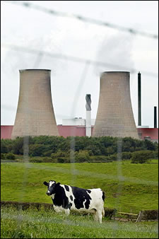 nuclear waste dumped in britain