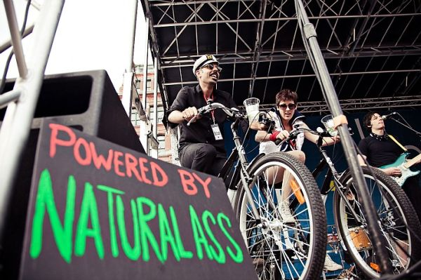 NYC's first pedal-powered music festival