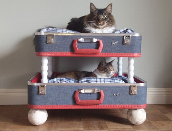 pet beds made from reclaimed materials 1
