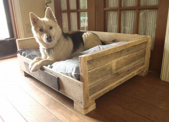 pet beds made from reclaimed materials 4