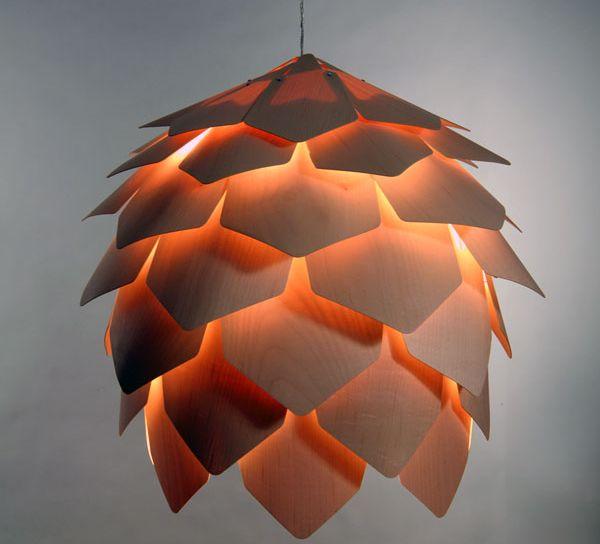pine cone pendant lamp 3