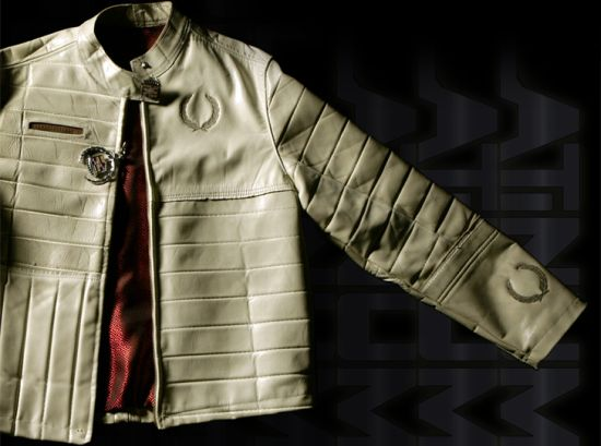 platinum road recycled leather jacket 3