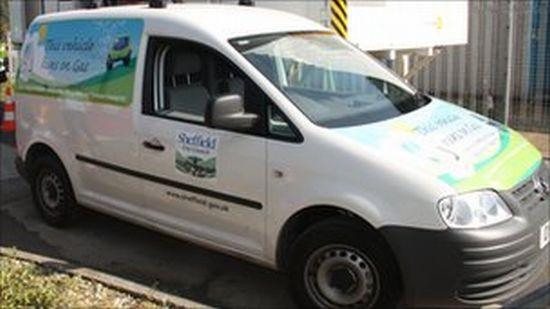 poo powered van in sheffield