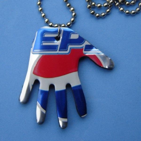 Pop Art Aluminum Can Hand Necklace