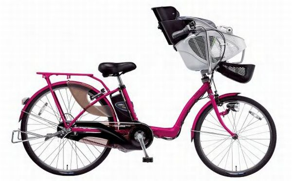 power assisted bikes with 2 child seats 1