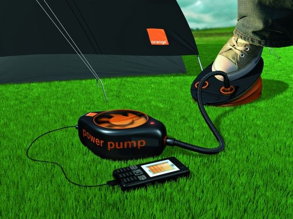 Power Pump recharging device