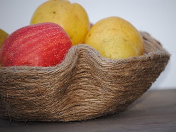 products made using old jute rope