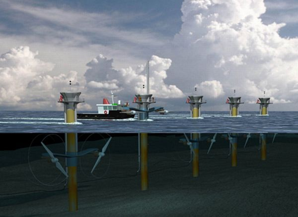 Proposed tidal power projects