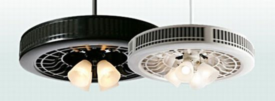 Purifan air purifying ceiling fan encloses blade for safety green purifan air purifying ceiling fan mozeypictures Gallery