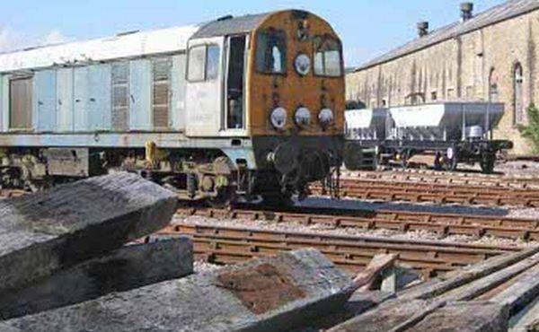 Railroad Wood Waste