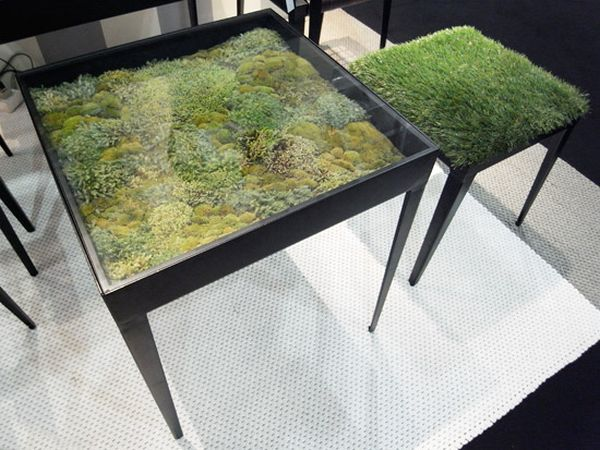 Real moss tables