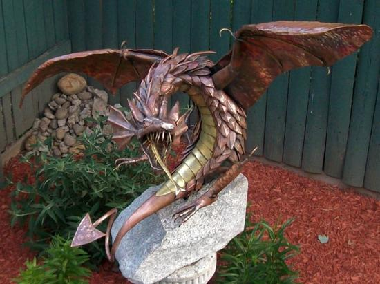 recycled art sculptures 1