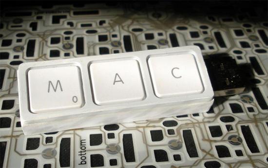 recycled macbook keys usb drive 2