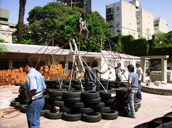 recycled tires home for haiti5