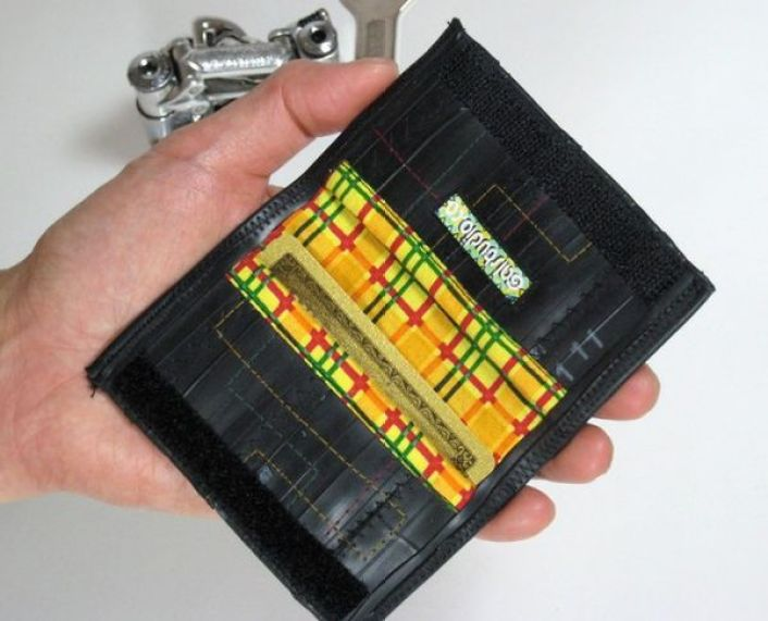 Recycled Bike Tube Wallet