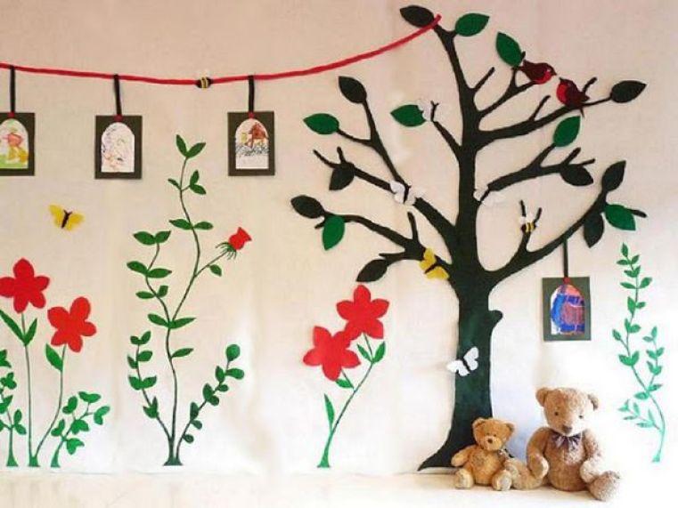 Recycled Green Garden Wallpaper