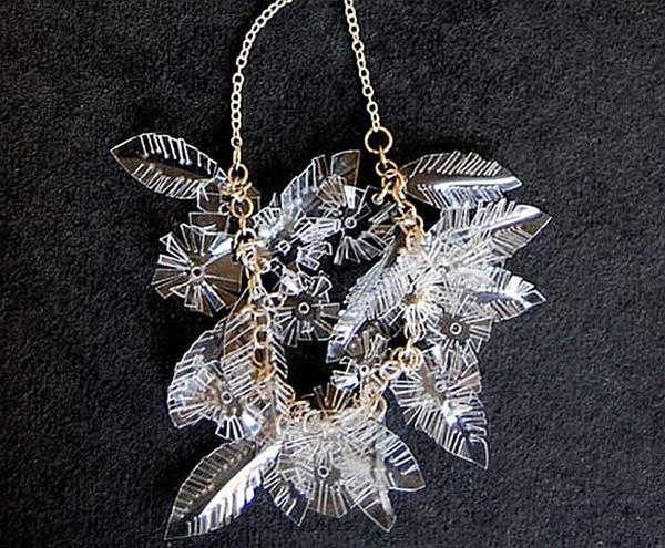 Recycled plastic jewelry
