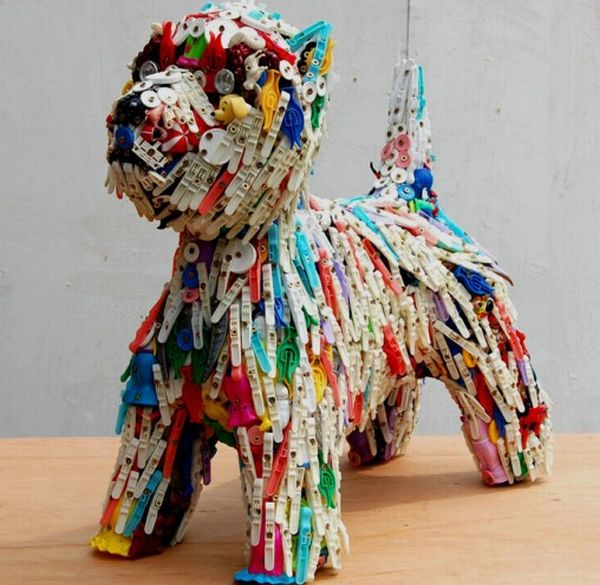 Recycled toy