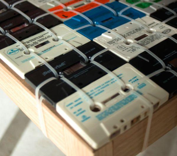 retro cassette tape chair 2