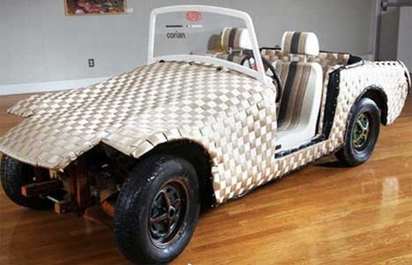 Retro Recycled Roadster