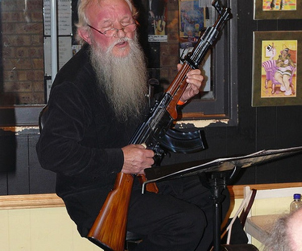 Rifle guitar