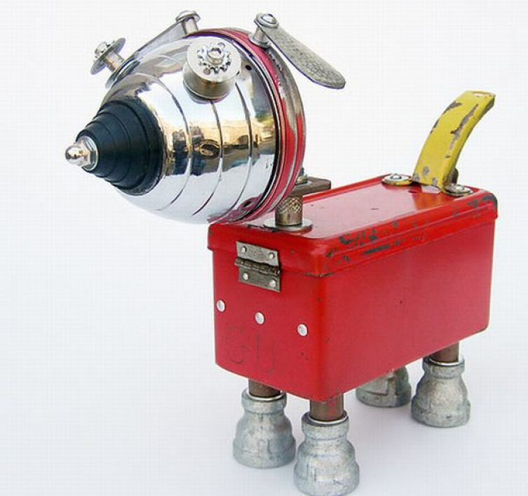 Robot Dog Yellowtail
