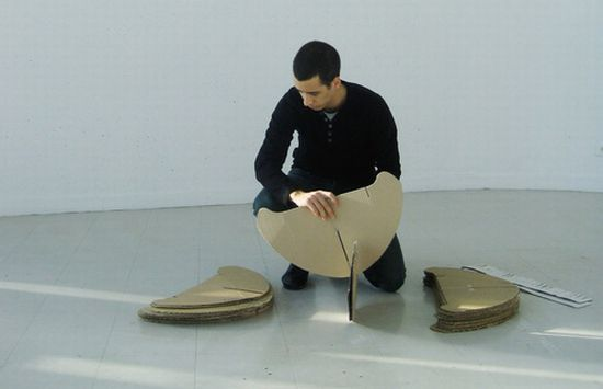 rocking cardboard chair5