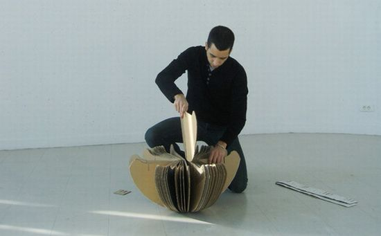 rocking cardboard chair7