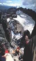 rwenzori mountains glaciers disappearing