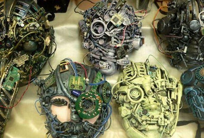 Sci-fi masks