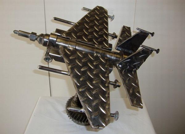 scrap metal art 8