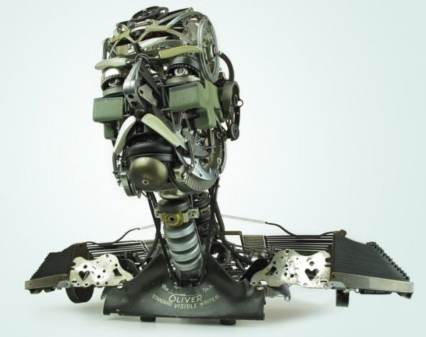 scrap scultpures by jeremy mayer 1