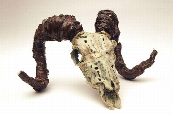 Sculptural skeletons