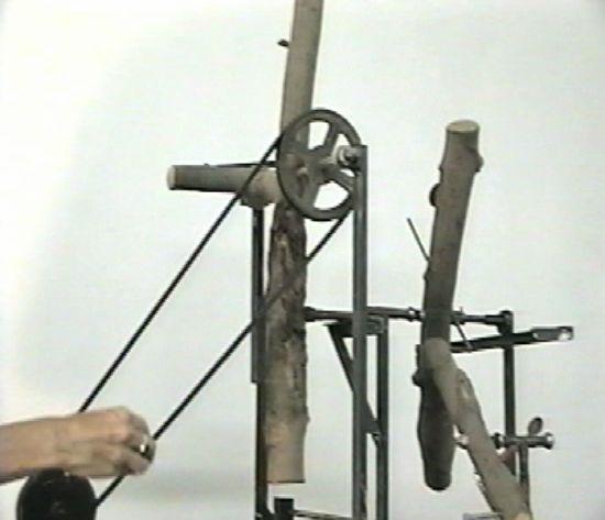 sculpture system log jam joseph chirchirillo