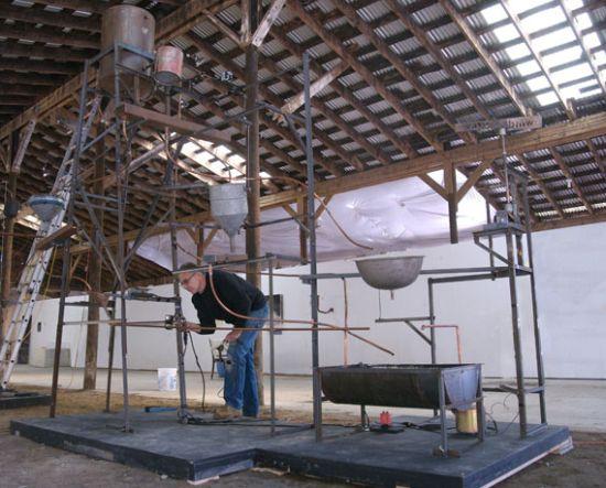 sculpture system wind water joseph chirchirillo