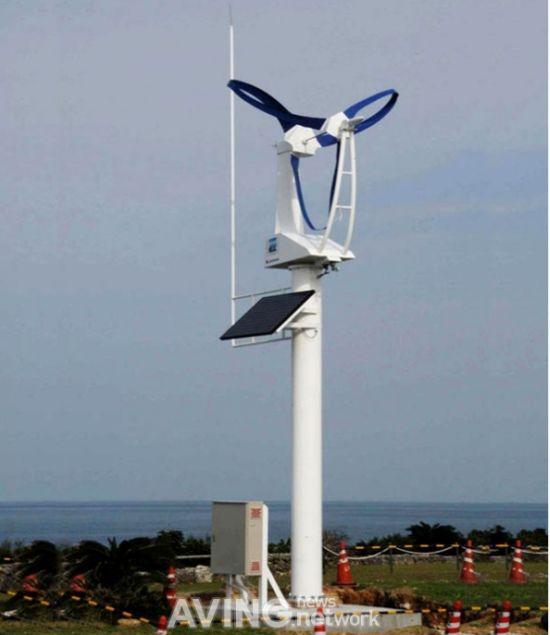 self powered streetlight wind energy generator 5