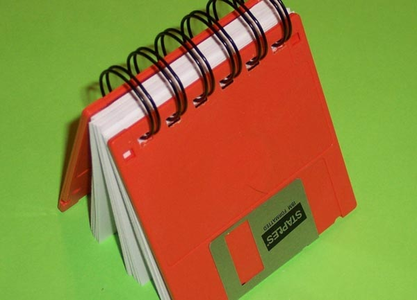 Seven creative things to do with old floppy disks