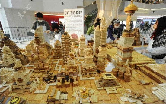 shanghai city made from sweets 11