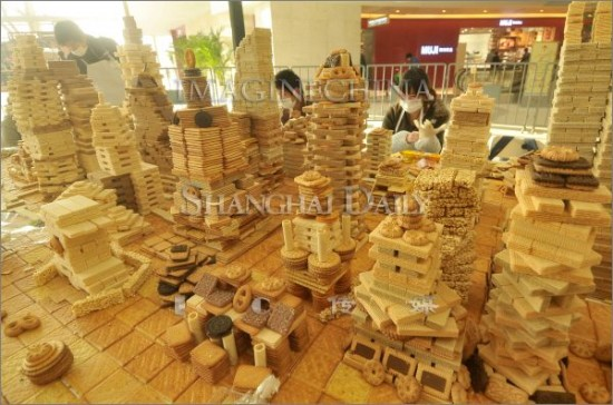 shanghai city made from sweets 6