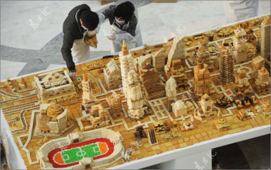 shanghai city made from sweets 7