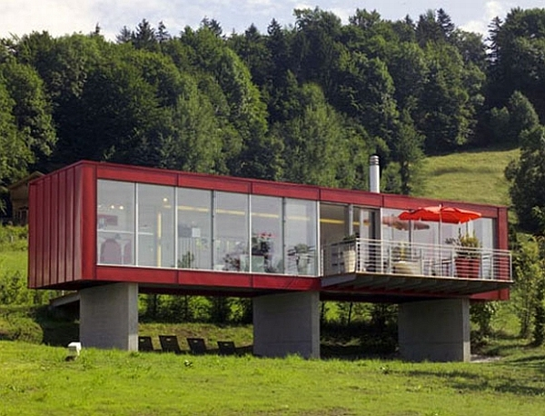 15 green homes made from shipping containers - Eco Friendly Shipping Container Homes