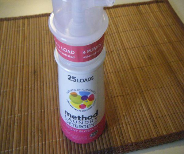 Smallest detergent bottle