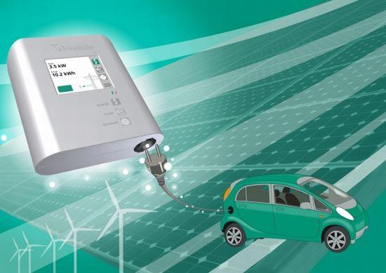 smart ev charging station