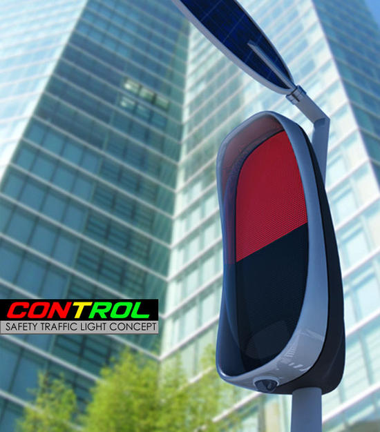 smart traffic light system utilizes solar power to