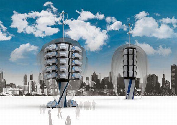 Smart Tower parking