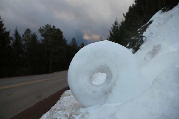 Snow wheel