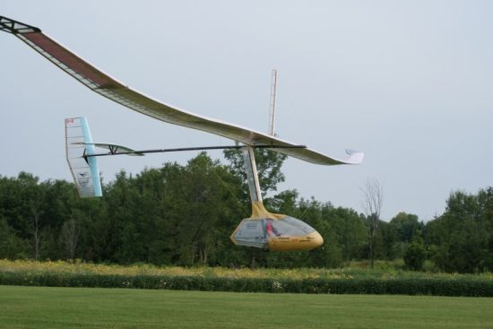 snowbird human powered aircraft 1