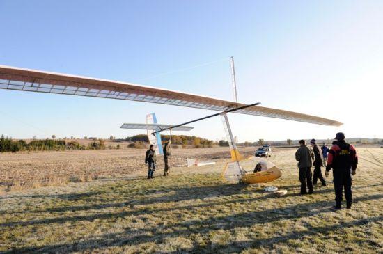snowbird human powered aircraft 2