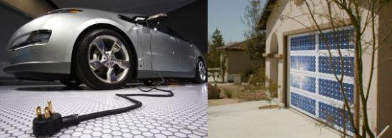 Perfect Solar Panel Garage Doors